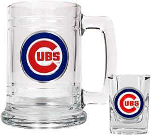 MLB Chicago Cubs Boilermaker Gift Set
