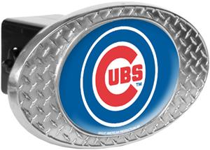 MLB Chicago Cubs Diamond Plate Hitch Cover