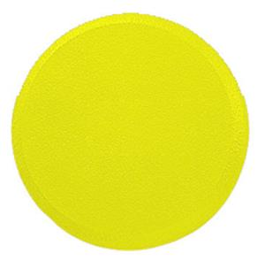"Champion Sports 9"" Yellow Rounded Foam Disc"