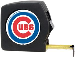 MLB Chicago Cub 25' Tape Measure Crystal Coat Logo