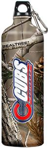 MLB Chicago Cubs RealTree Aluminum Water Bottle