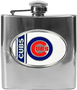 MLB Chicago Cubs 6oz Stainless Steel Flask