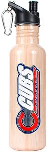 MLB Chicago Cubs 26oz Baseball Bat Water Bottle