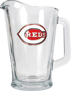 MLB Cincinnati Reds 1/2 Gallon Glass Pitcher