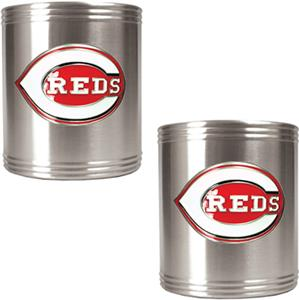MLB Cincinnati Reds Stainless Steel Can Holders