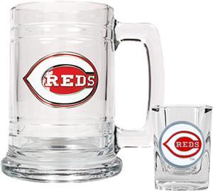 MLB Cincinnati Reds Boilermaker Gift Set