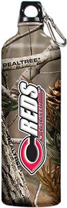MLB Cincinnati Reds RealTree Aluminum Water Bottle