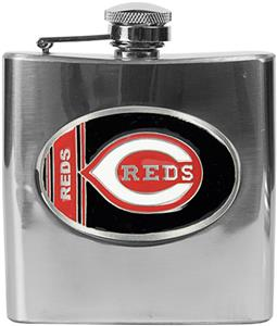 MLB Cincinnati Reds 6oz Stainless Steel Flask