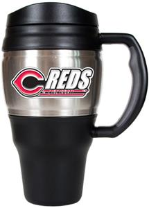 MLB Cincinnati Reds Stainless 20oz Travel Mug