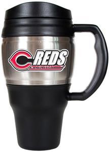 MLB Cincinnati Reds Stainless 20oz Travel Mug
