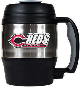 MLB Cincinnati Red 52oz Stainless Macho Travel Mug