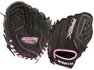 "Worth FPEX Storm Series 10"" Softball Gloves"