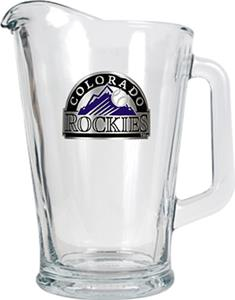 MLB Colorado Rockies 1/2 Gallon Glass Pitcher