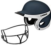 Worth Liberty Away Batter's Helmets w/ Faceguard