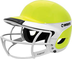 Worth OY Liberty Away Batter's Helmet w/ Faceguard