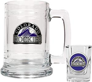 MLB Colorado Rockies Boilermaker Gift Set