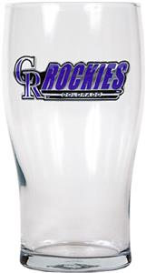 MLB Colorado Rockies 20oz Pub Glass