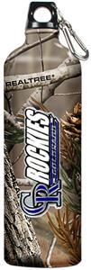 MLB Rockies RealTree Aluminum Water Bottle