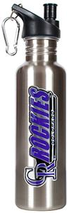 MLB Colorado Rockies 26oz Stainless Water Bottle