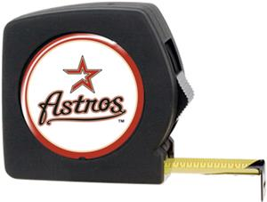 MLB Astros 25' Tape Measure Crystal Coat Logo