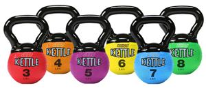 Champion Sports Mini Rhino Kettle Bells