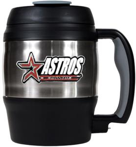 MLB Houston Astros 52oz Stainless Macho Travel Mug