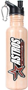 MLB Houston Astros Baseball Bat Water Bottle