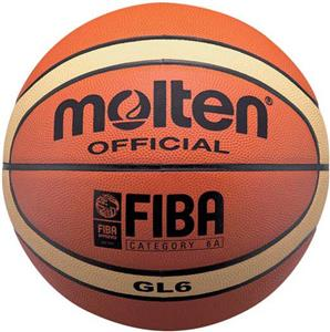 Molten FIBA Official Size 7 &amp; 6 Leather Basketball