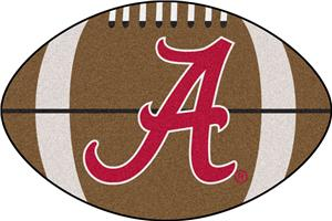 Fan Mats University of Alabama 'A' Football Mat