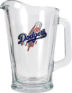 MLB Los Angeles Dodgers 1/2 Gallon Glass Pitcher