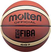 Molten FIBA 12 Panel 2-Tone Leather Basketballs