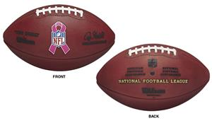 Wilson Duke WTF1100 BCRF NFL Leather Game Football