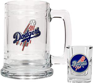 MLB Los Angeles Dodgers Boilermaker Gift Set