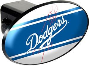 MLB Los Angeles Dodgers Trailer Hitch Cover