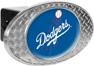 MLB Los Angeles Dodgers Diamond Plate Hitch Cover