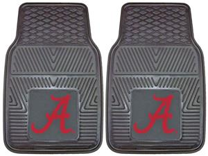 Fan Mats Univ of Alabama 'A' Vinyl Car Mats (set)