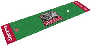 Fan Mats University of Alabama Putting Green Mat