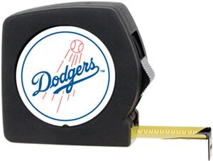 MLB Dodgers 25' Tape Measure Crystal Coat Logo