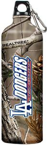 MLB Dodgers RealTree Aluminum Water Bottle