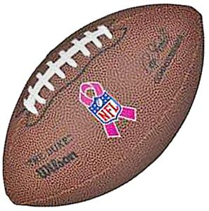 Wilson Mini WTF1631IDBC Cancer Awareness Football
