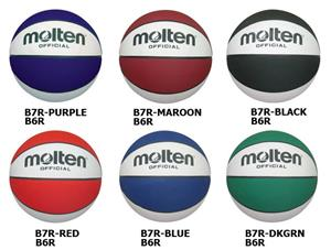 Molten Recreational Rubber Basketballs (7 colors)