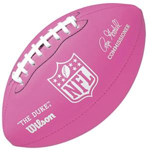 Wilson Mini Pink Soft Touch NFL Football