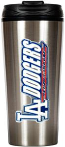 MLB Dodgers 16oz Stainless Travel Tumbler