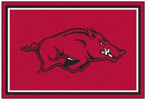 Fan Mats University of Arkansas 5x8 Rug