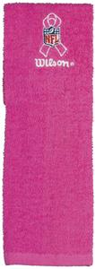 Wilson Football Cancer Awareness Pink Field Towel