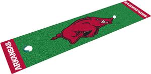 Fan Mats University of Arkansas Putting Green Mat