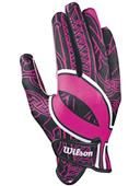 Wilson Pink HOPE Football Receiver Gloves - PAIR
