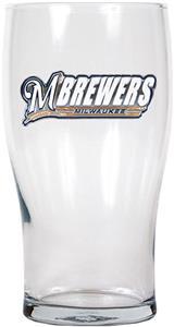 MLB Milwaukee Brewers 20oz Pub Glass