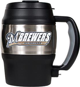 MLB Brewers 20oz Stainless Steel Mini Jug