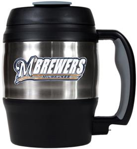 MLB Brewers 52oz Stainless Macho Travel Mug